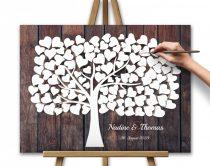80x60 cm, 3D effect Wooden Design - Brown