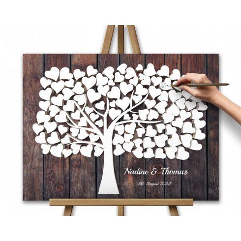 Hochzeitsbaum Grün braun