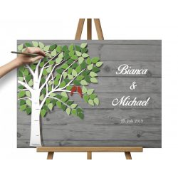 Hochzeitsbaum Grün
