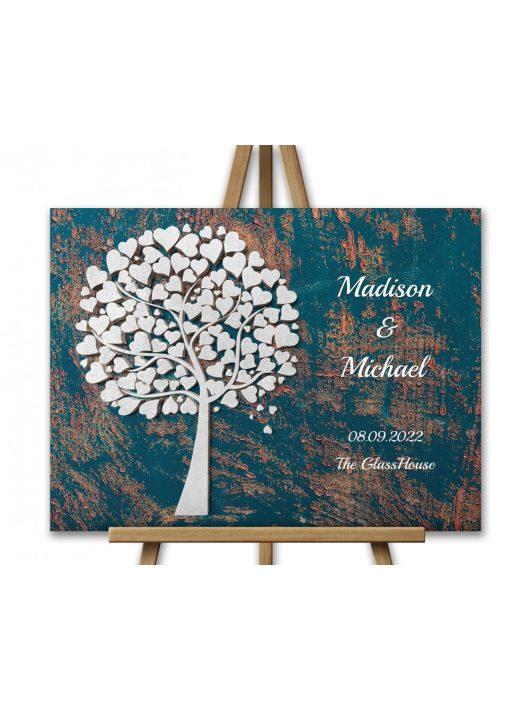 3D-Effekt Hochzeitsbaum, Wedding tree, Hochzeitsgeschenk