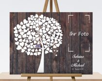 Hochzeitsgeschenk  Gästebuch mit Foto