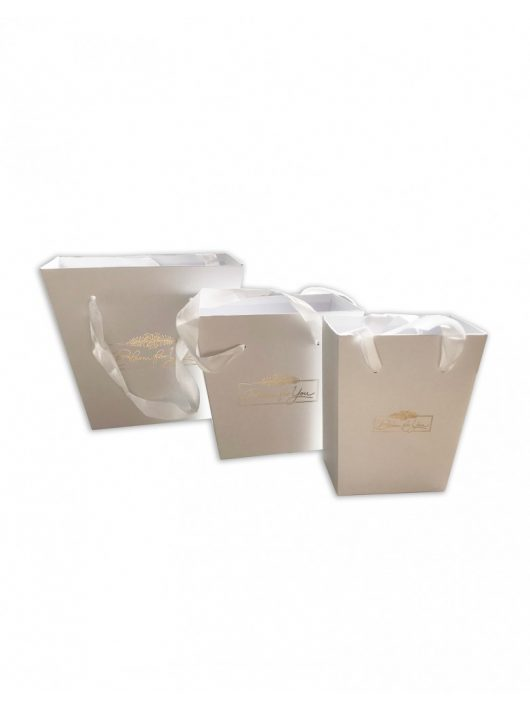 Blumenbox, Trapez-Set, Weiß